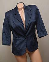 Блейзер Жакет Пиджак Турция KADELLI синий укороченый рукав , фото 1