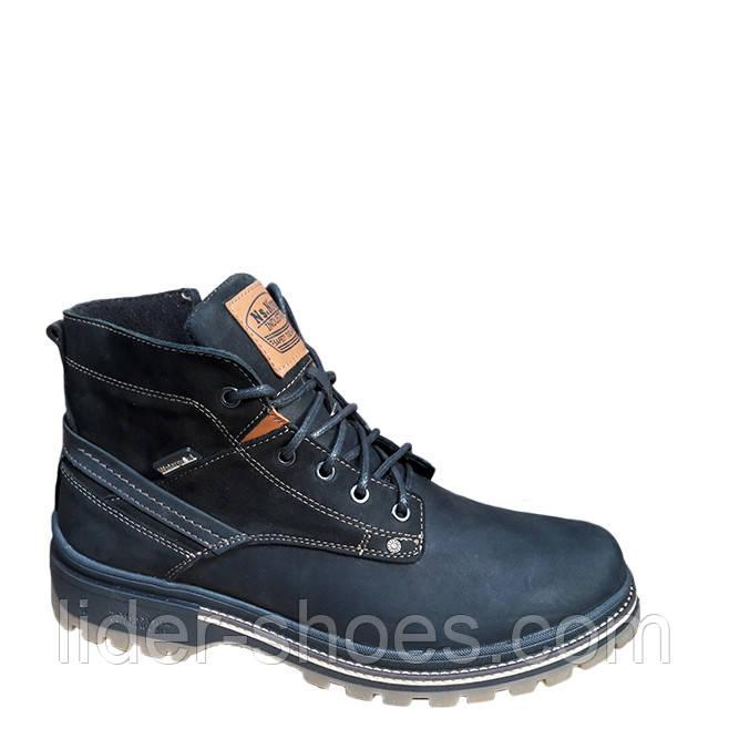 Мужские зимние ботинки на толстой подошве