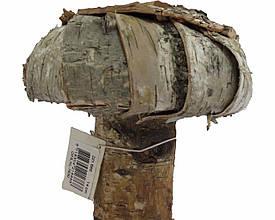 Гриб деревянный для интерьера 14см