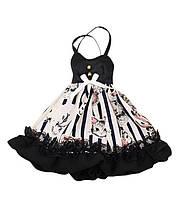 Платье для куклы Блайз, Пуллип, Айси с животными. Одежда для Pullip, ICY и Blythe