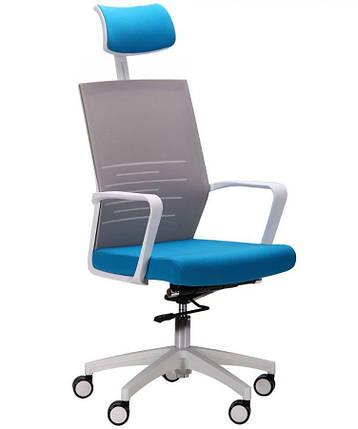 Кресло Oxygen HB циркон/лазурь, фото 2
