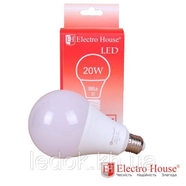 Светодиодная лампа А95 Е27 20Вт 4100K
