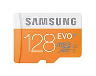 Карта памяти Samsung 128GB EVO Micro SDXC Class 10/UHS-1 Memory Card