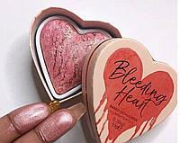 Румяна хайлайтер I Heart Revolution Bleeding Heart Highilgher «В стиле»
