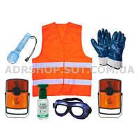 ADR-комплект для опасных грузов, которые обозначаются знаками опасности № 4.2, 5.1, 5.2, 6.2 или 7