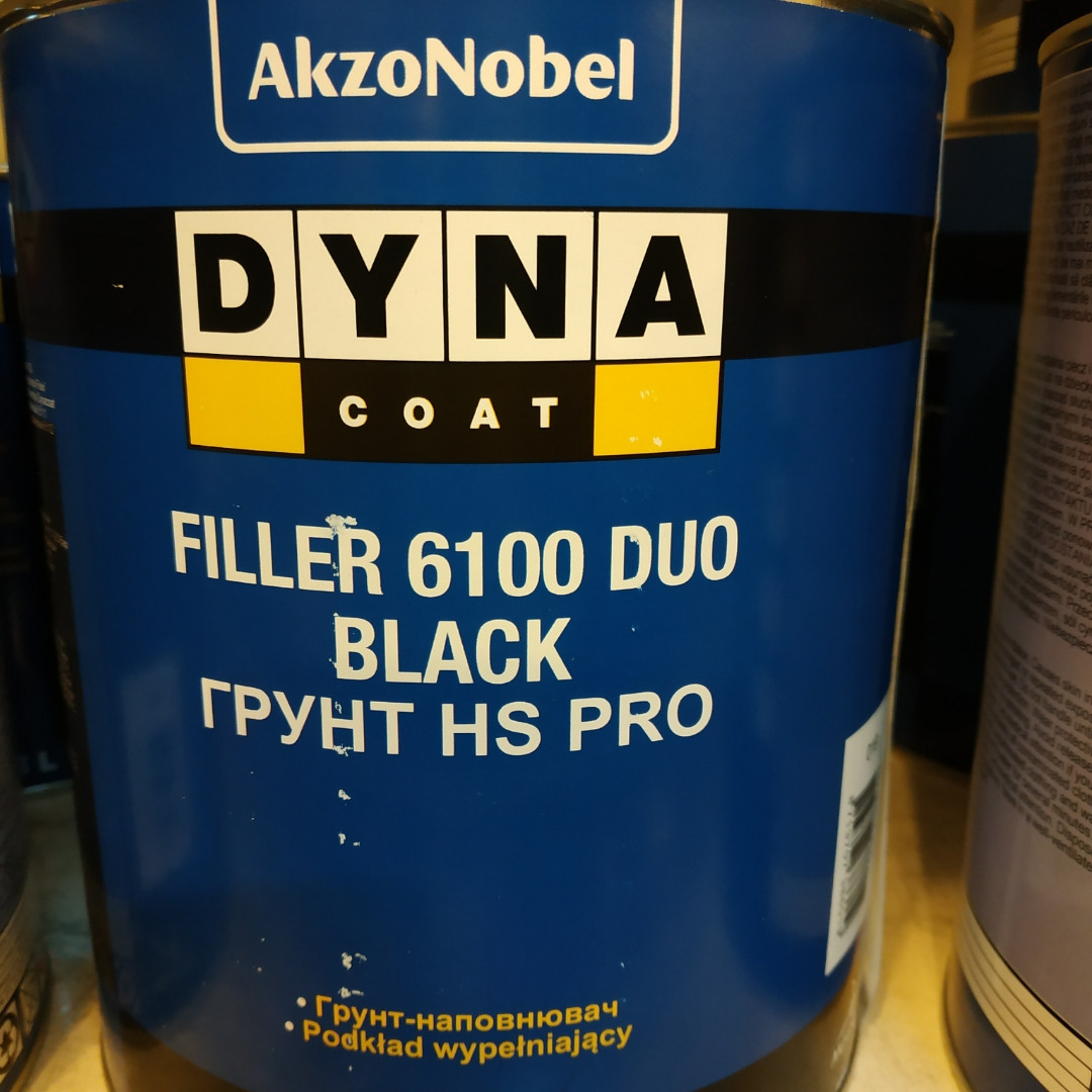 Грунт автомобильный DYNA FIL 6100 DUO BLACK 3л