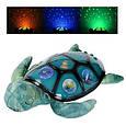 Ночник YJ 3 Морская черепаха 35 см, проектор ночные неба, 3 режима, на батарейке, фото 4
