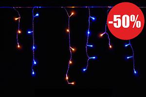 Гирлянда ШТОРА- ДОЖДИК 5М*0,5М UKRAINE 200 LED