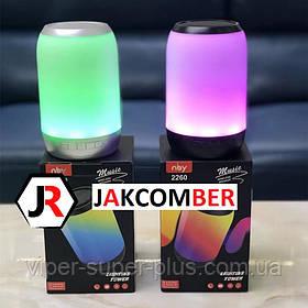 Портативная Блютуз колонка JAKCOMBER NBY-2260 FM Повер Банк micro USB SD AUХ беспроводная Bluetooth колонка
