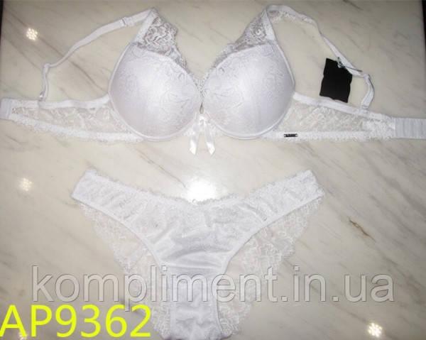Комплект женского нижнего белья с эффектом пуш ап  Balalaum  9362 белый