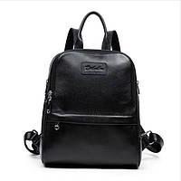 Рюкзак женский кожаный BOSTANTEN (черный), фото 1