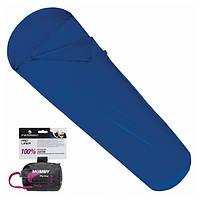 Вкладыш для спального мешка Ferrino Liner Pro Mummy Blue, фото 1