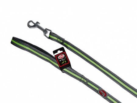 Поводок Pet Nova Neoprene Comfort XL 2.5 х 120 см Серый (с отражателем)