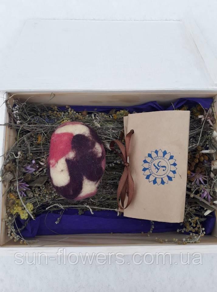 Подарочный набор (5) в деревянном ящике