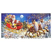 Адвент календарь с Дедом Морозом Windel 250g