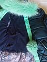 СУПЕР цена! Пальто детское зимнее Алсу на тинсулейте размеры 134- 158  Мята, фото 6