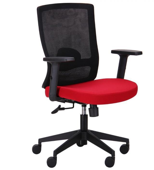 Кресло Xenon LB черный/гранат
