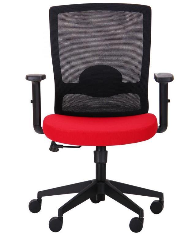 Кресло Xenon LB черный/гранат (фото 2)