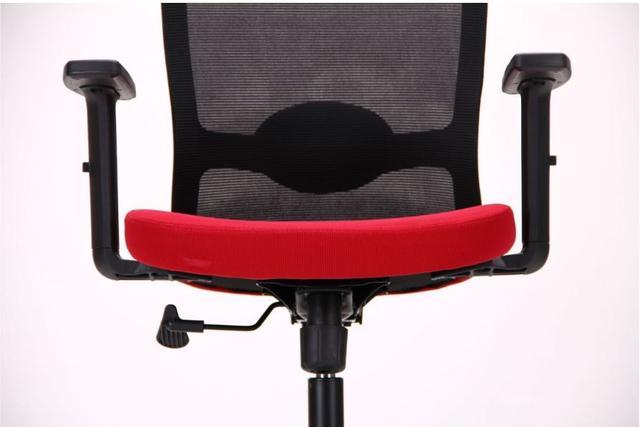 Кресло Xenon LB черный/гранат (фото 6)