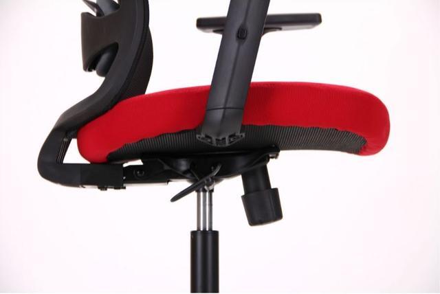 Кресло Xenon LB черный/гранат (фото 8)