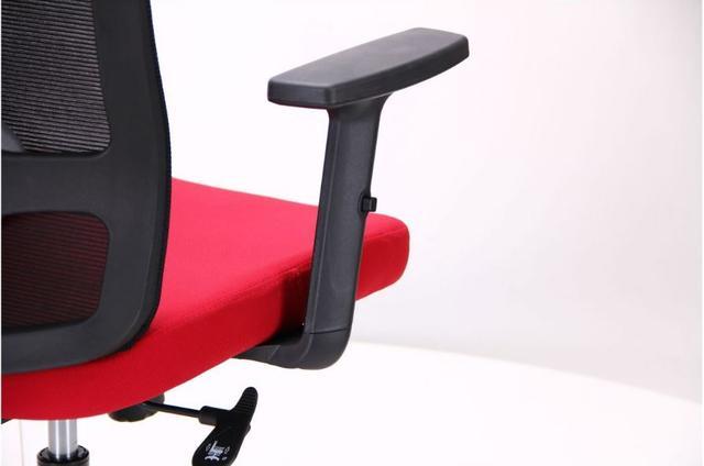 Кресло Xenon LB черный/гранат (фото 10)