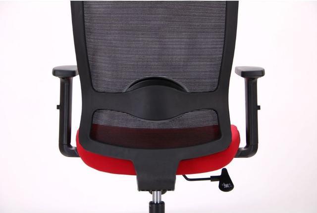 Кресло Xenon LB черный/гранат (фото 11)