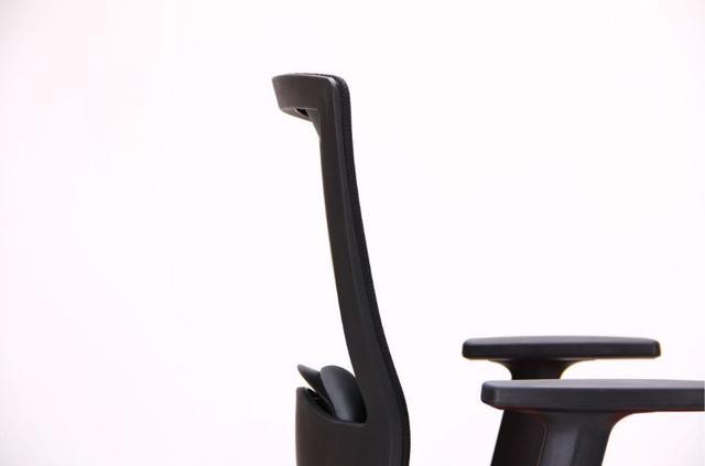 Кресло Xenon LB черный/гранат (фото 12)