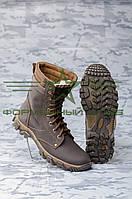 Берцы Техно коричневые зимние, фото 1