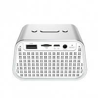 Колонка Bluetooth BASEUS E02 Silver, фото 4