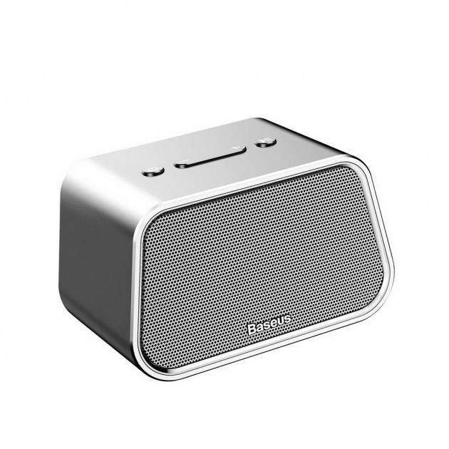 Колонка Bluetooth BASEUS E02 Silver