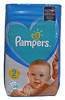 Подгузники Pampers New Baby-Dry 2 Mini 3-6 кг, Эконом - 68 шт.