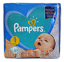 Подгузники Pampers New Baby-Dry 2-5 кг, Стандарт 27шт