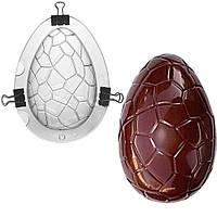 Поликорбанатная форма для шоколада Яйцо 15х7см