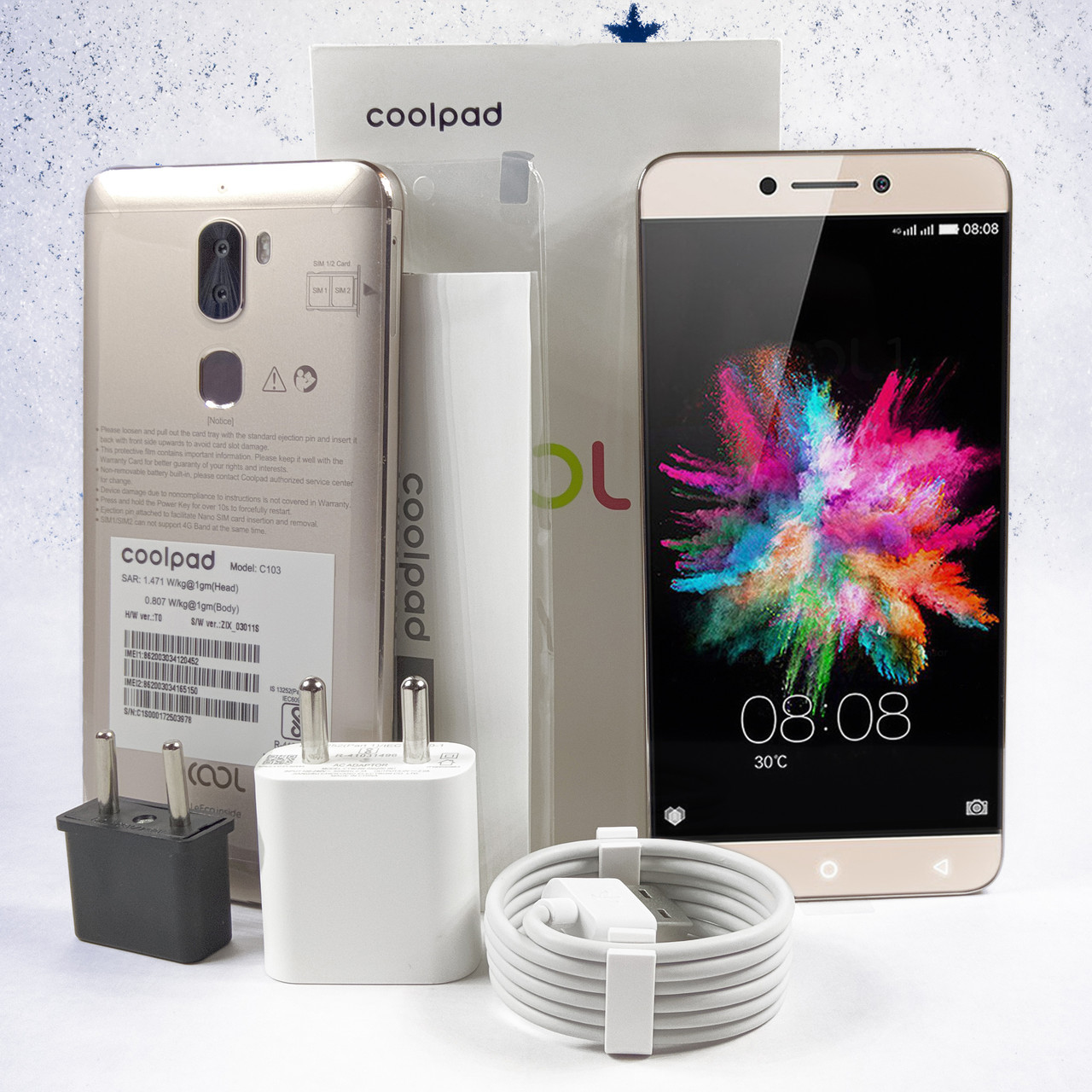"""LeEco Coolpad Cool1 5.5""""   4/32Gb  13 Mp   FullHD + Подарки"""