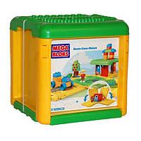 Конструктор Mega Bloks First Builders в ведерке Домик (784)