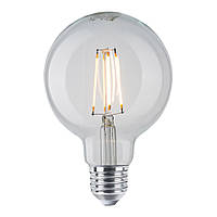 Лампа Эдисона G95 LED 6 Вт Philips филамент прозрачная