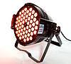 Прожектор Led par 54x3 RGB(W) 3в1. Концертный свет, заливка, светомузыка, фото 5