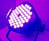 Прожектор Led par 54x3 RGB(W) 3в1. Концертный свет, заливка, светомузыка, фото 6