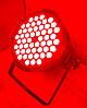 Прожектор Led par 54x3 RGB(W) 3в1. Концертный свет, заливка, светомузыка, фото 8