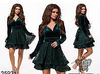 Платье с пышной юбкой в расцветках 26209, фото 1