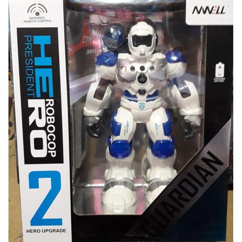 """Робот на радиоуправлении """"Robocop"""" 8088 2 цвета"""