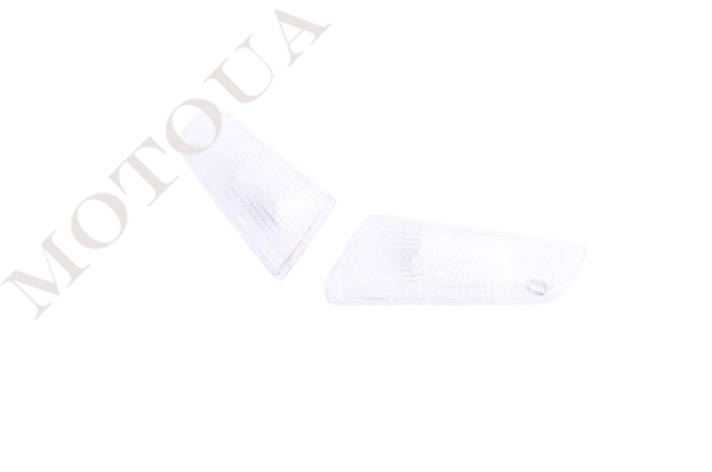 Стеклa поворотов передние (пара) SUZUKI Address 100 KOMATCU Белые, фото 2