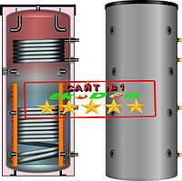 Тепловой акуумулятор на два теплообменника в изоляции 500 л