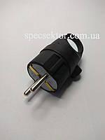 Вилка електрична К2 ККР 2108 кутова каучук