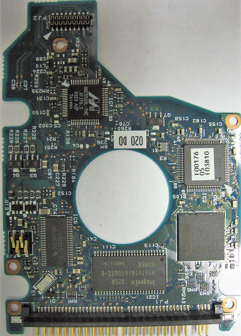 Плата HDD 40GB 4200rpm 2MB IDE 2.5 Toshiba MK4021GAS G5B000211000-A