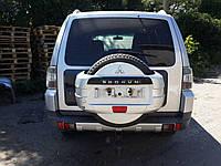 Крышка багажника и стекло Mitsubishi Pajero Wagon 4, 2007 г.в. 5821A056, 5821A058