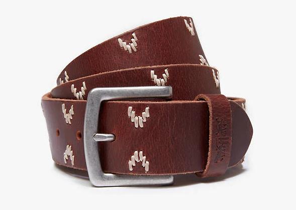 Ремень Levi's® Embroidered Belt - Browne
