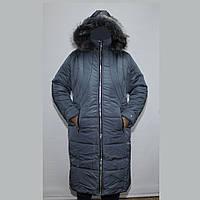Пальто женское теплое большого размера K955G