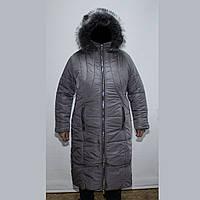 Пальто женская зимняя большого размера 58-64 K955G
