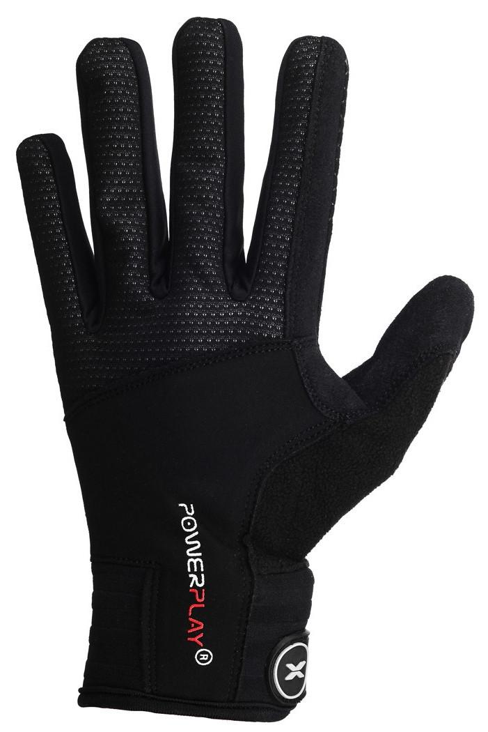 Рукавиці лижні PowerPlay 6942 Чорні S (Універсальні зимові)
